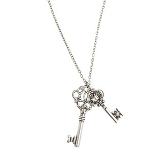 AE Key Pendant Necklace Profile Photo