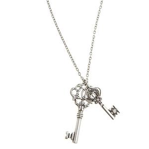 AE Key Pendant Necklace Profile Photo