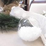 Easy epsom salt ornament