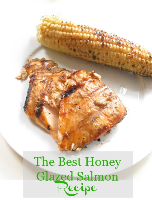 The best honey glazed salmon recipe