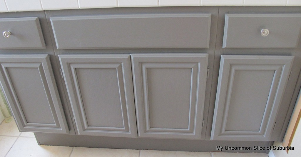 Painting Oak Cabinets Gray