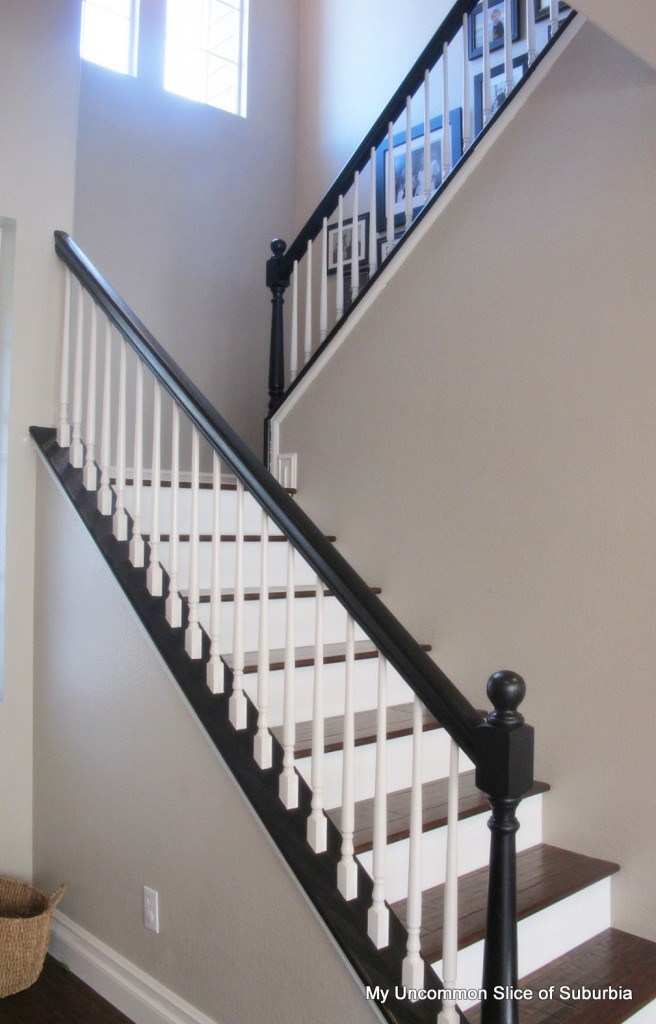 painting a banister white 28 images before and after a