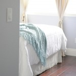 Wood Floors in the guest room