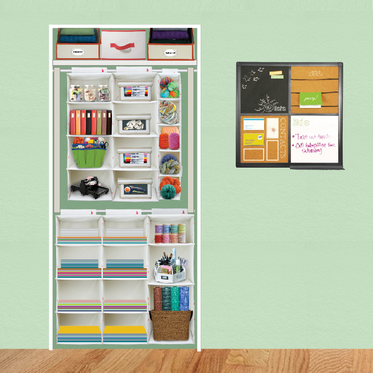 Craft Closet Organization Ideas Part - 26: My Uncommon Slice Of Suburbia