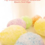 Epsom Salt Easter Eggs