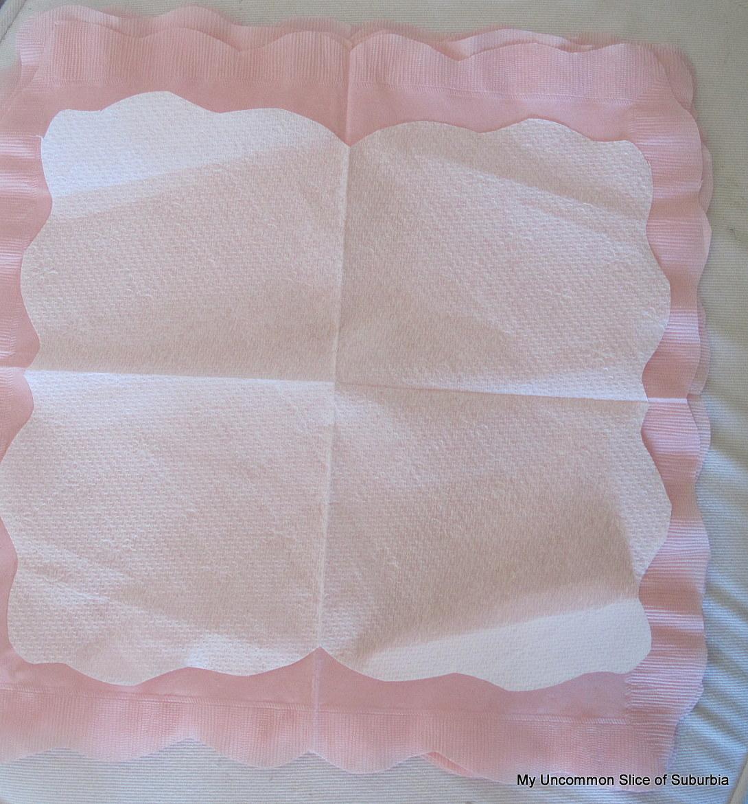 Paper Napkin Flowerstutorial