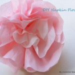 Paper Napkin Flowers~Tutorial~