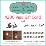 $200 Visa Giftcard & Prize Package Giveaway