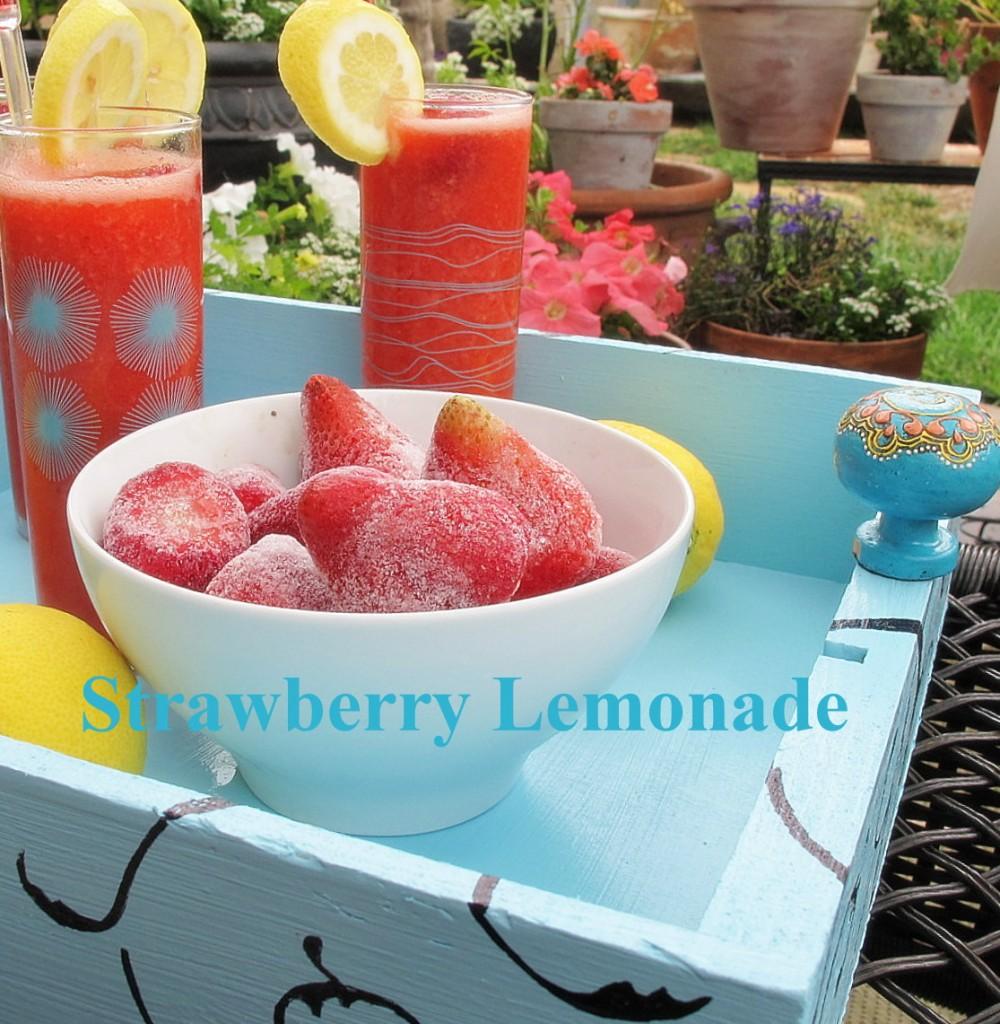 Strawberry Lemonade from My Uncommon Slice of Suburbia