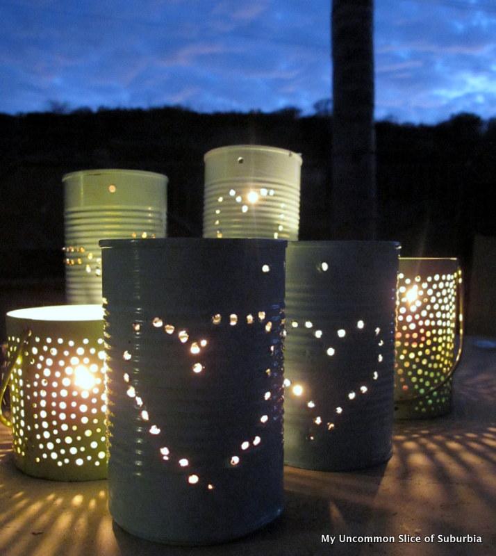 Image result for diy  tin lantern