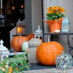 Fall touches around the house