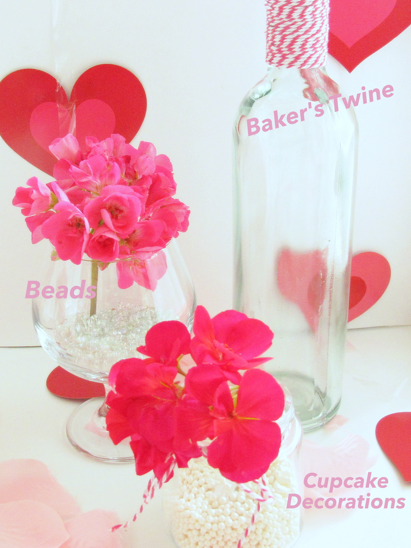 decorate on the cheap for valentines