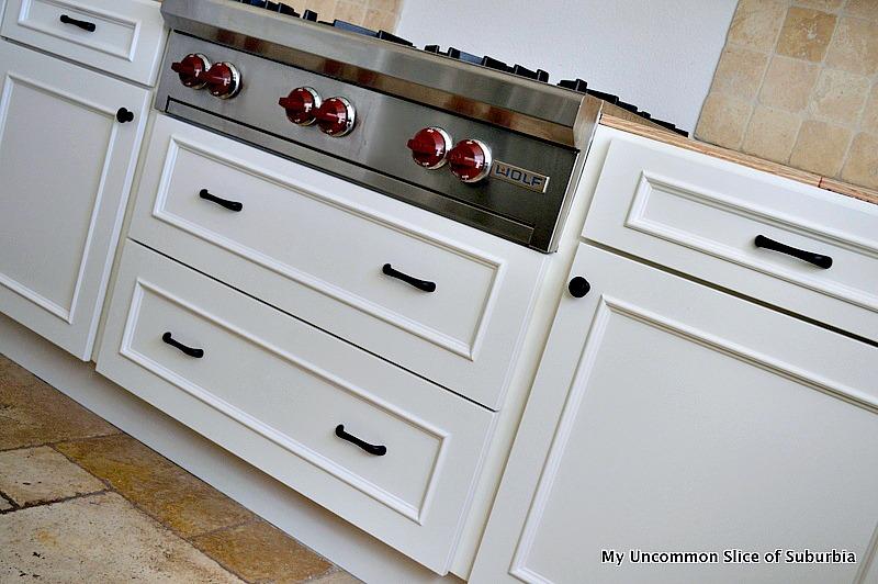 Kitchen with hardware