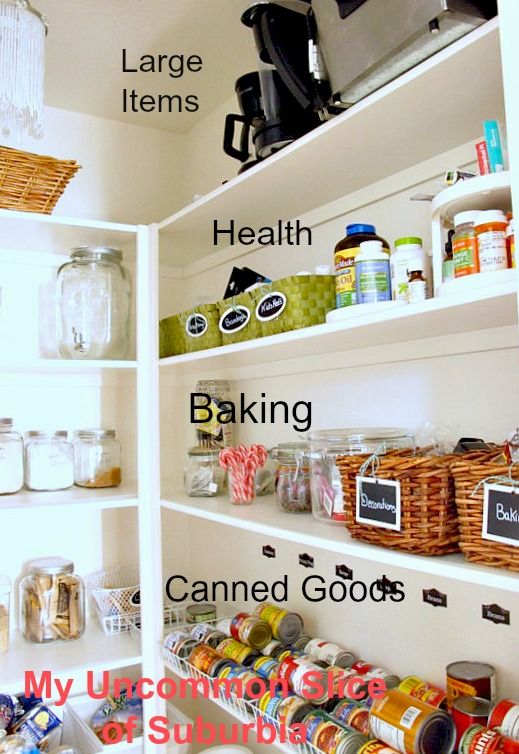 Pantry right side