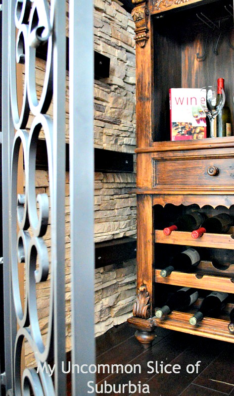 Turning unused space under the stairs into a wine Cellar