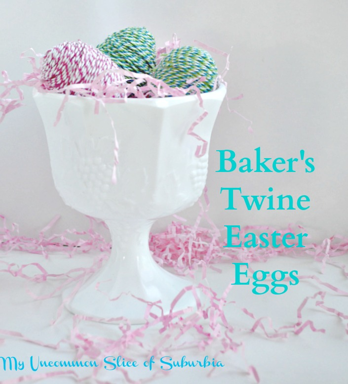 Twine -Wrapped- Plastic- Eggs