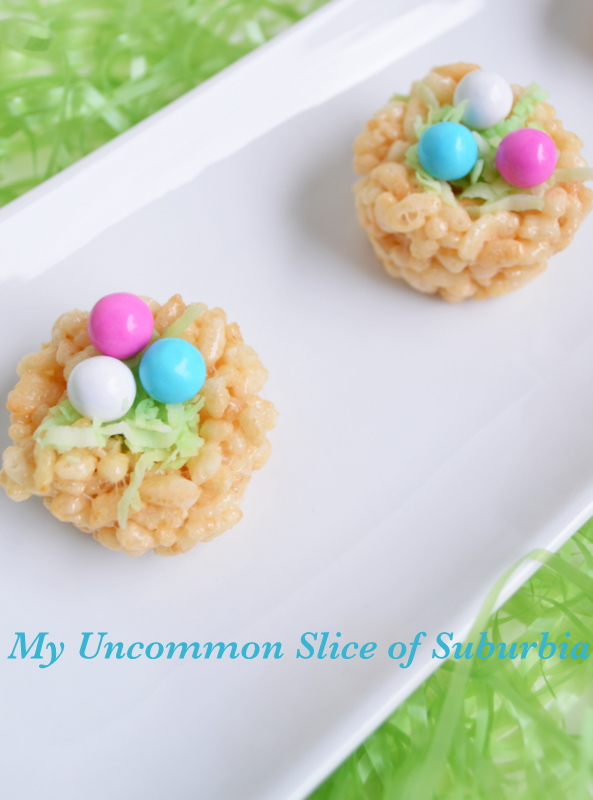 Rice Krispy Treat Easter Egg