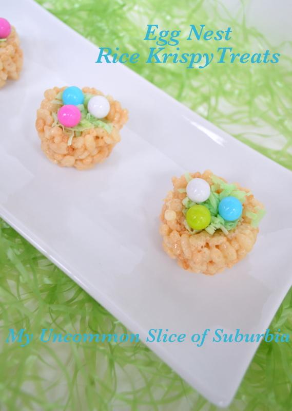 Rice Krispy Treat Easter Egg