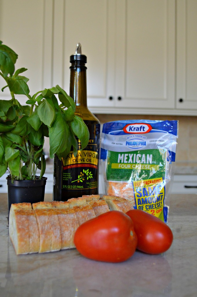 Ingredients for Panini Sandwich