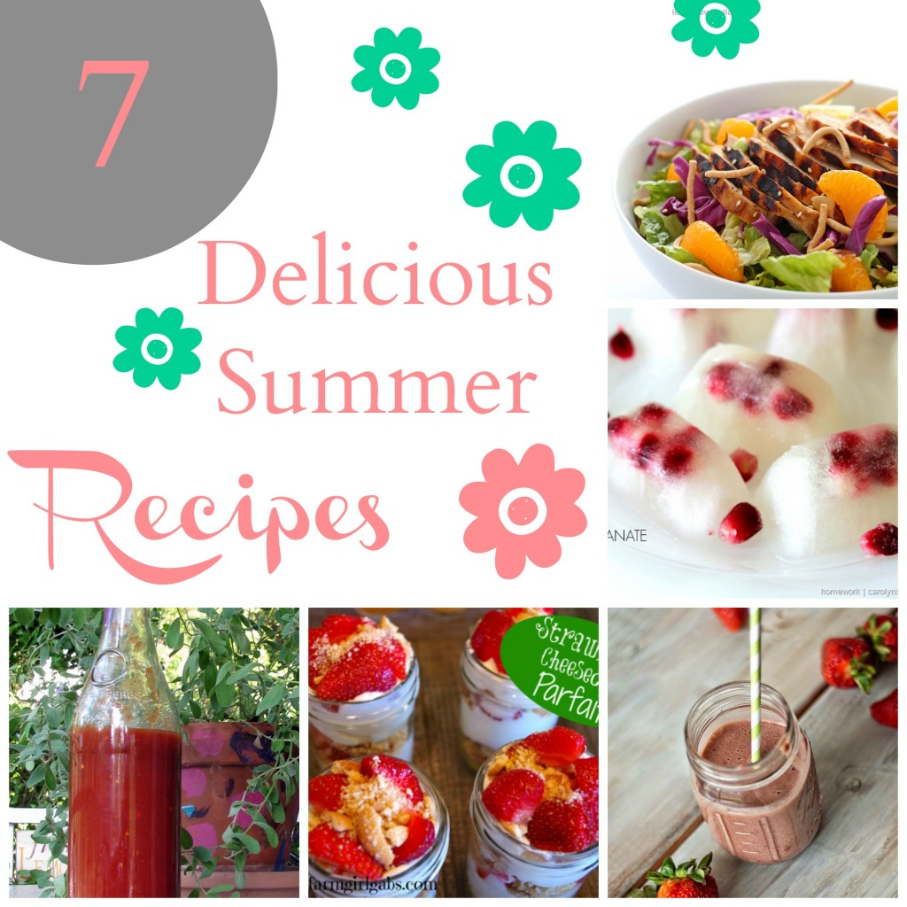 7 summer recipes