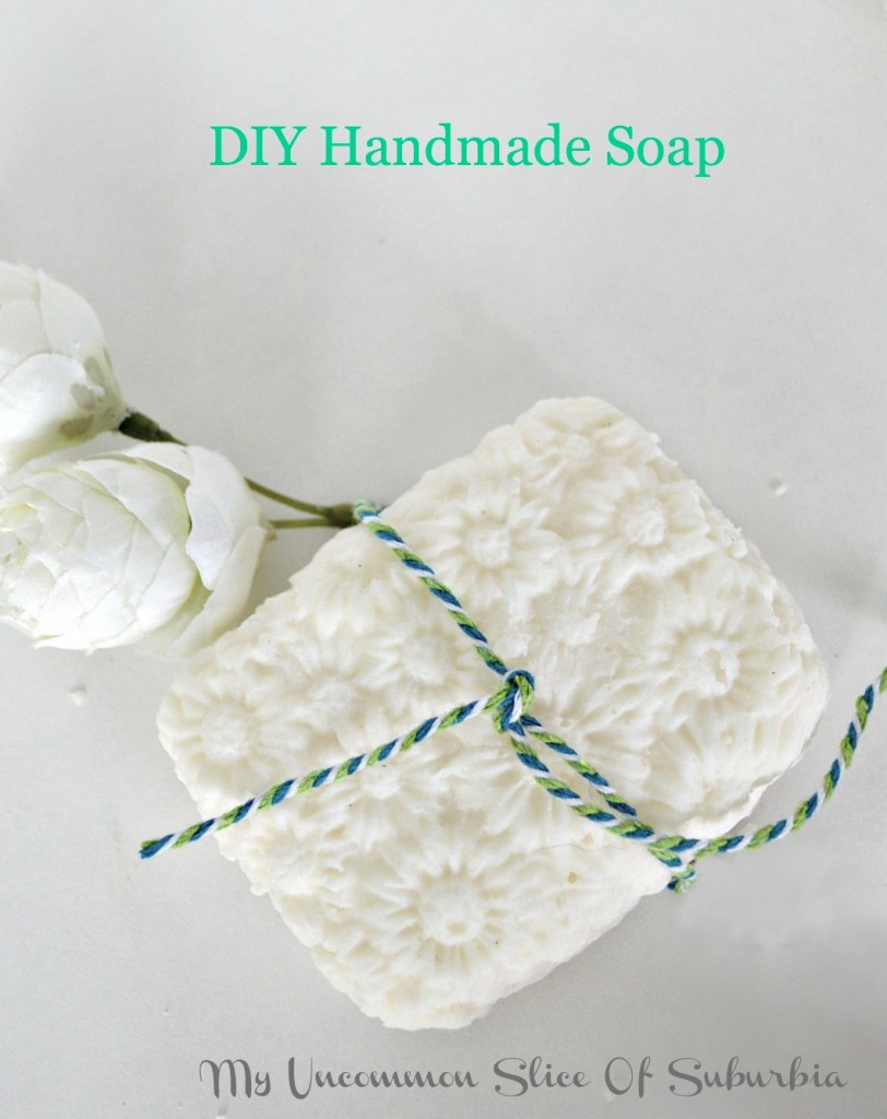 how to make my own soap