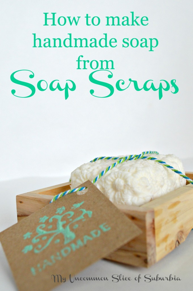 How to make handmade soap from soap scraps the easy way