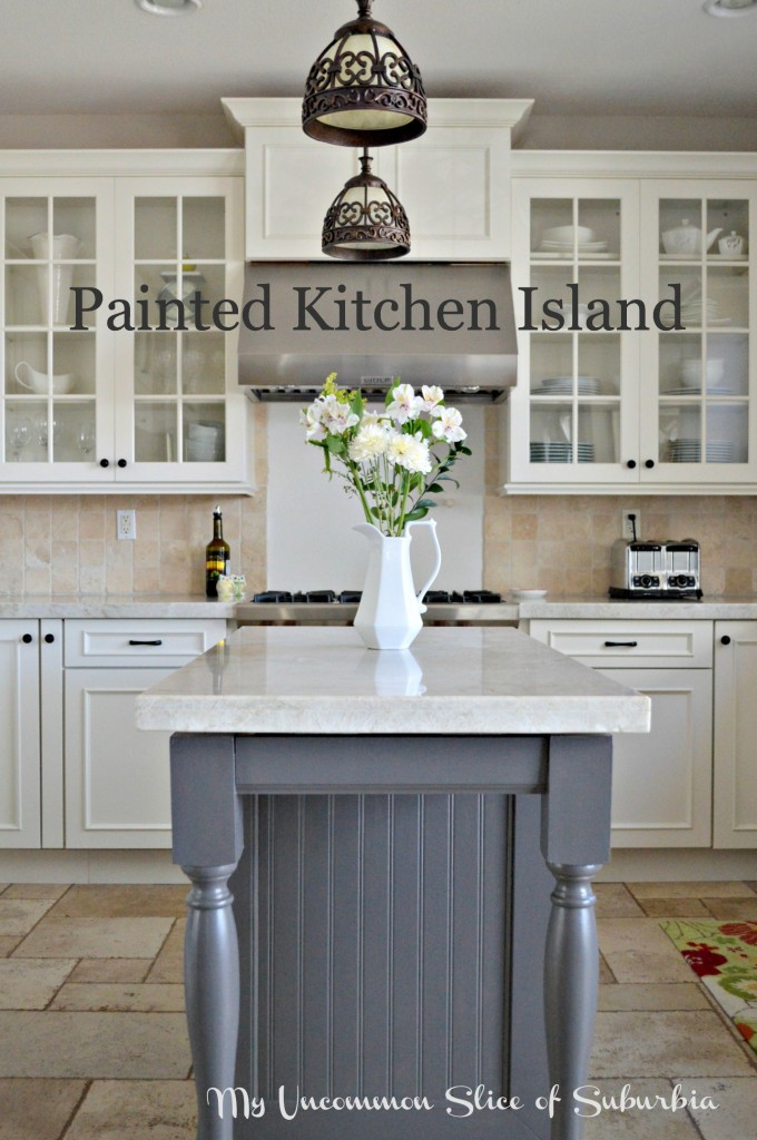 painted kitchen island iron mountain favorite paint colors 14508