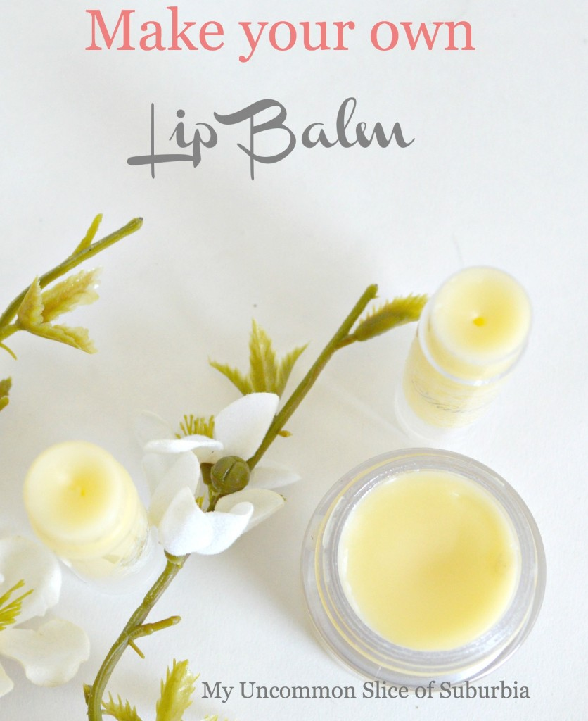 How to Make your own homemade lip balm