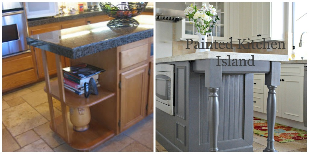 How to make a kitchen island custom