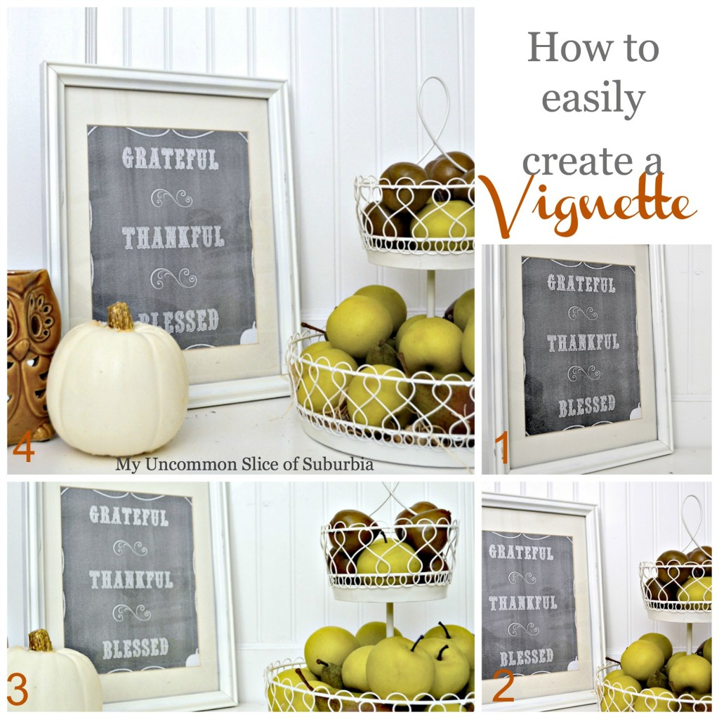 How to easily create a vignette