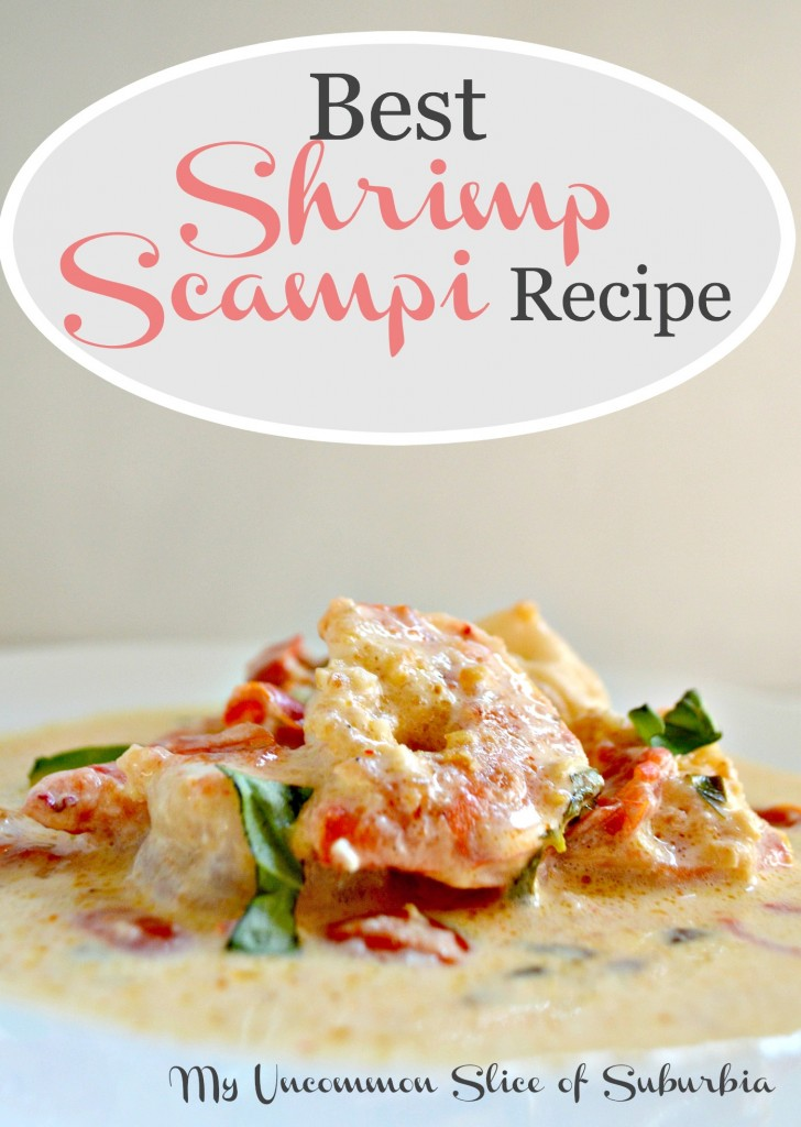 Shrimp Scampi best recipe ever