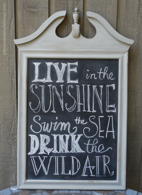acompleted-chalkboard-from-a-Mirror-pleasure-in-simple-things