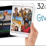 Giveaway for a 32GB iPad Mini