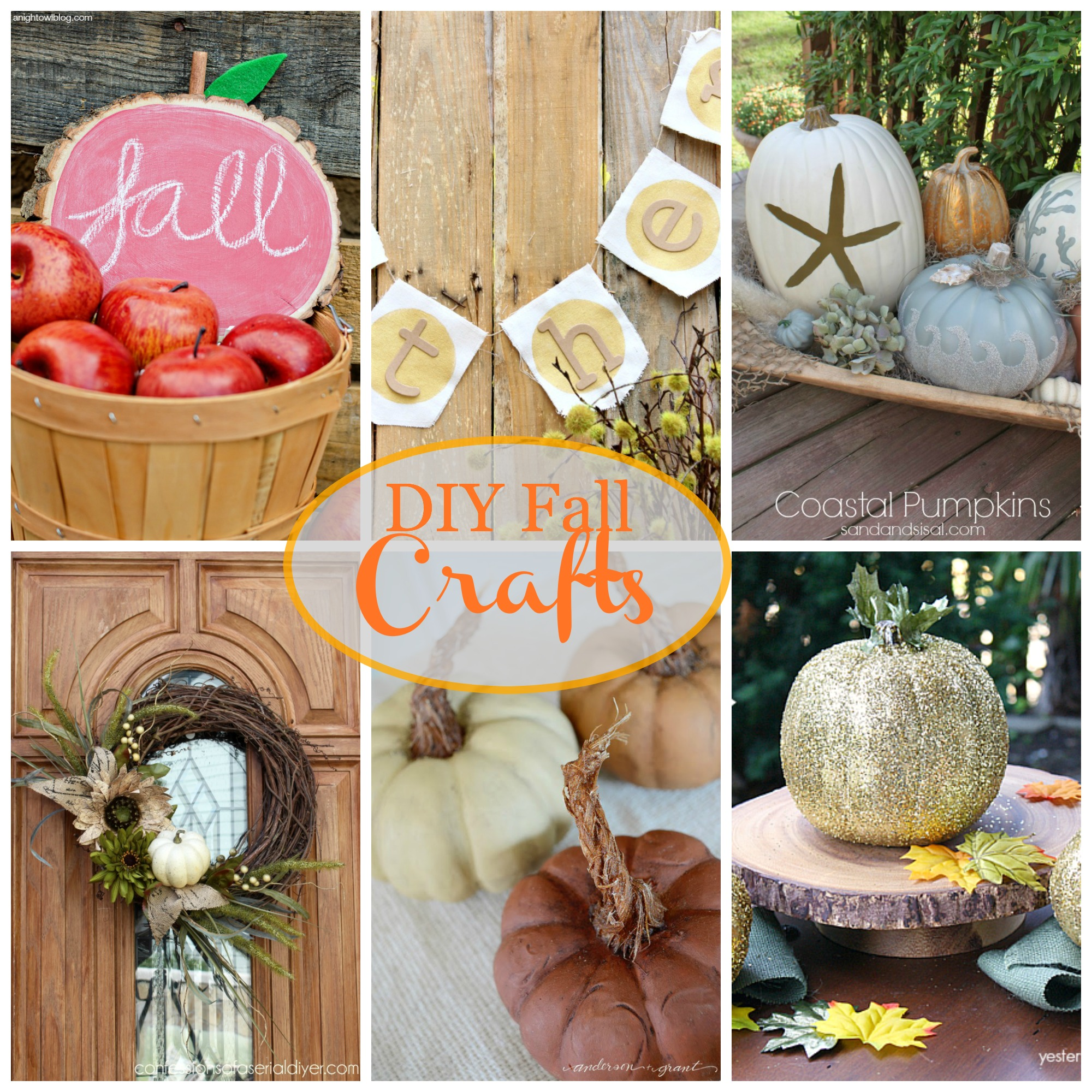Diy fall crafts for Fall diy crafts pinterest