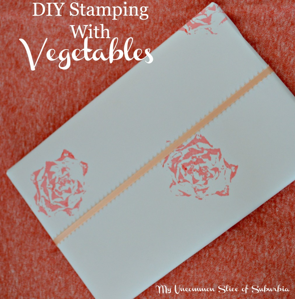 DIY Stamping Wrapping Paper