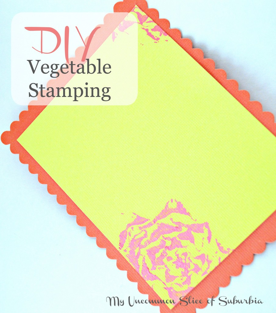 DIY Vegetable stamping