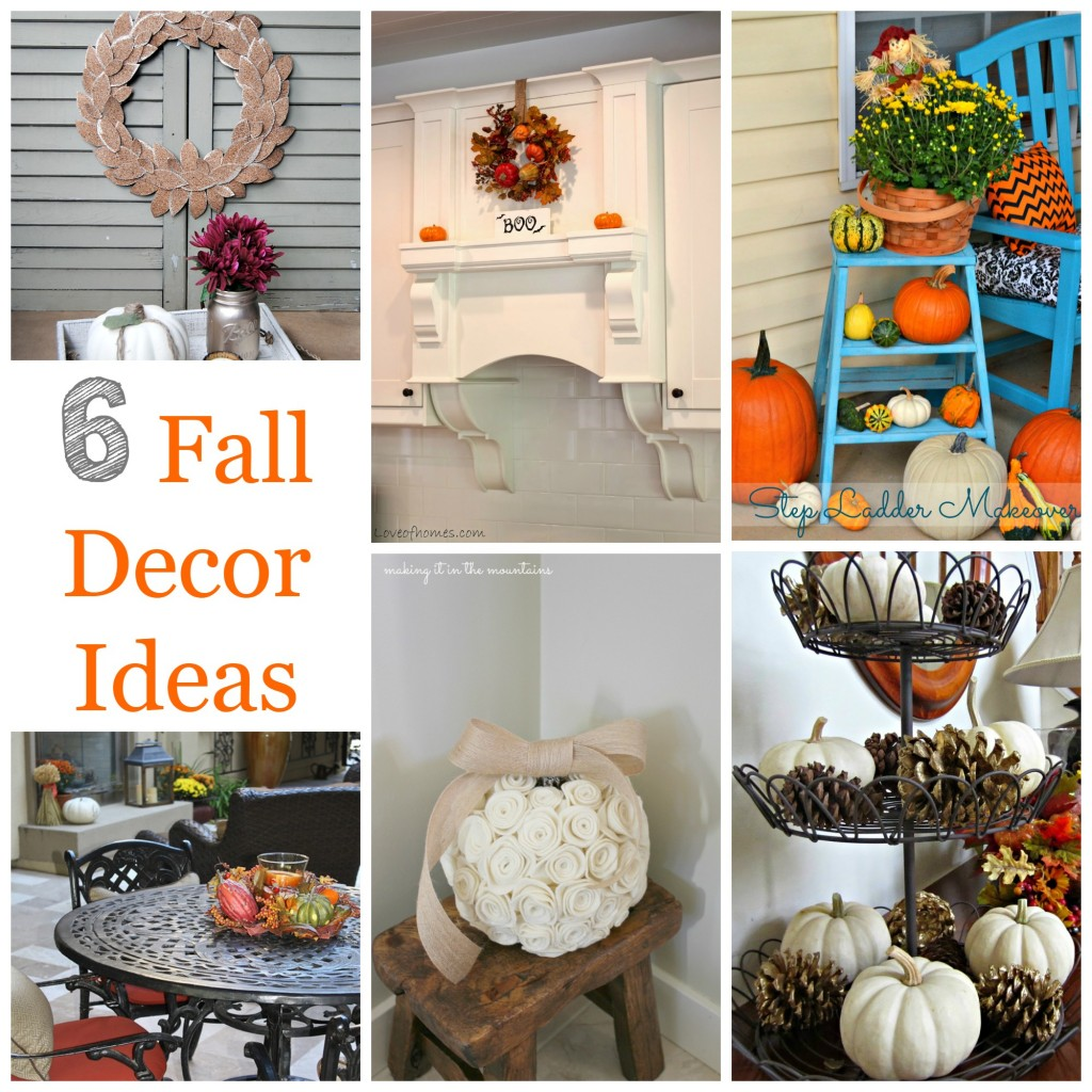 6 fall decor ideas