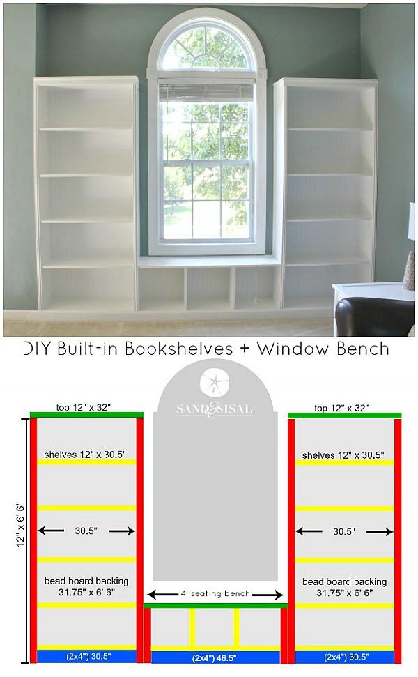 DIY-Built-in-Bookshelves-Window-Bench-Plans