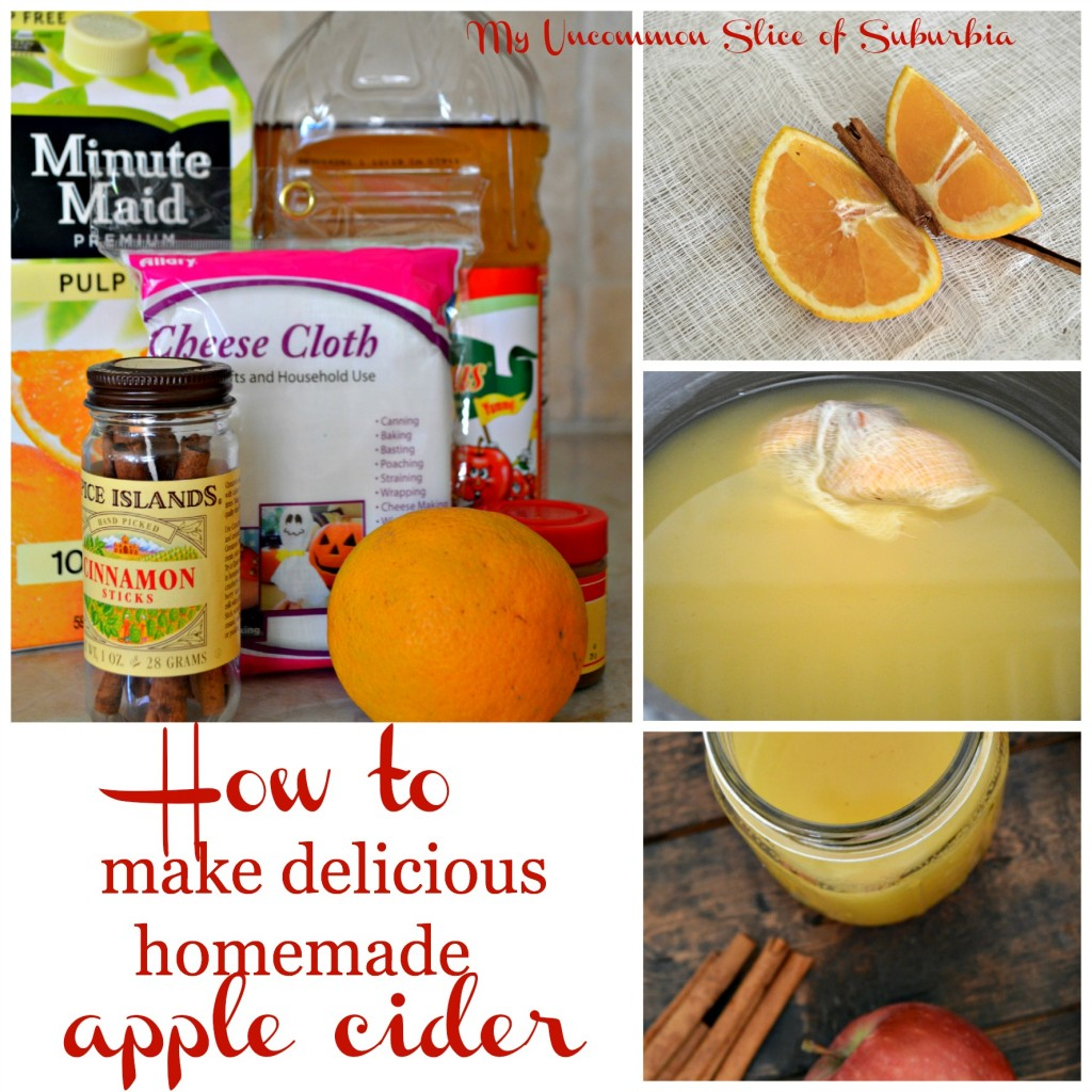 How to make delicious Homemade apple cider