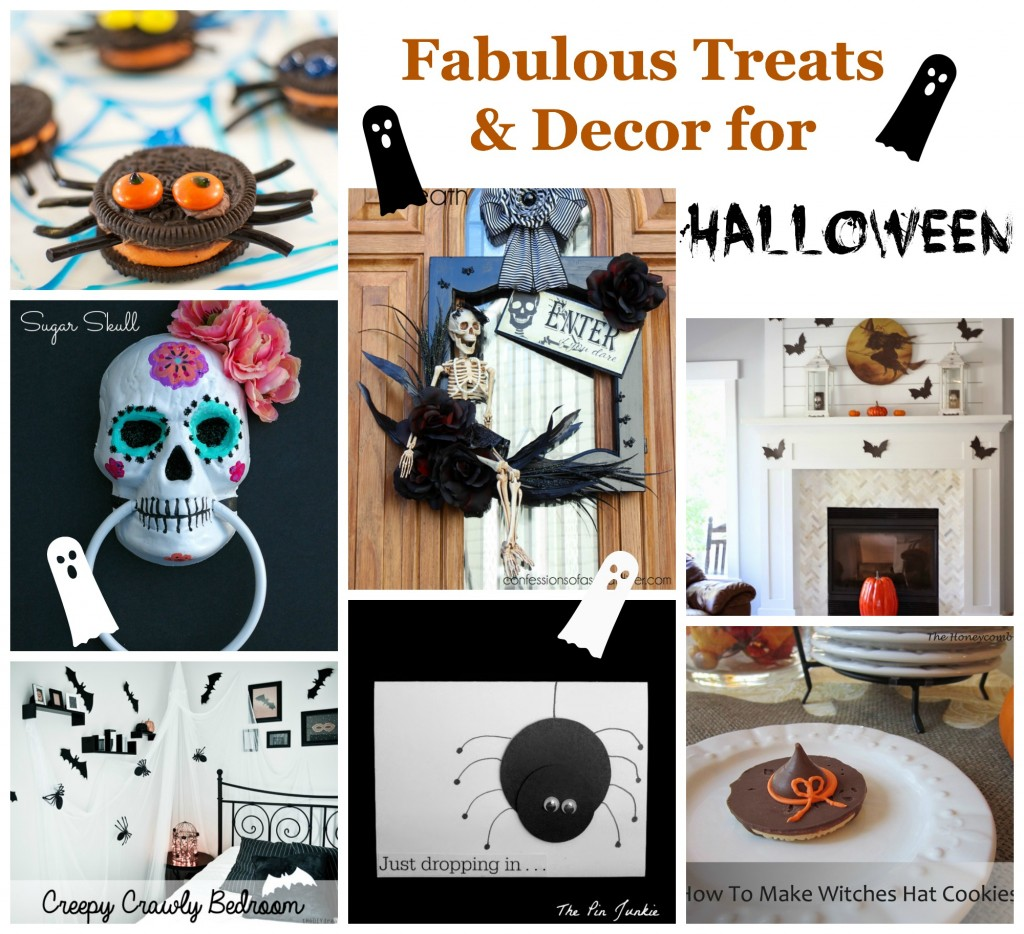 Treats and decor for Halloween