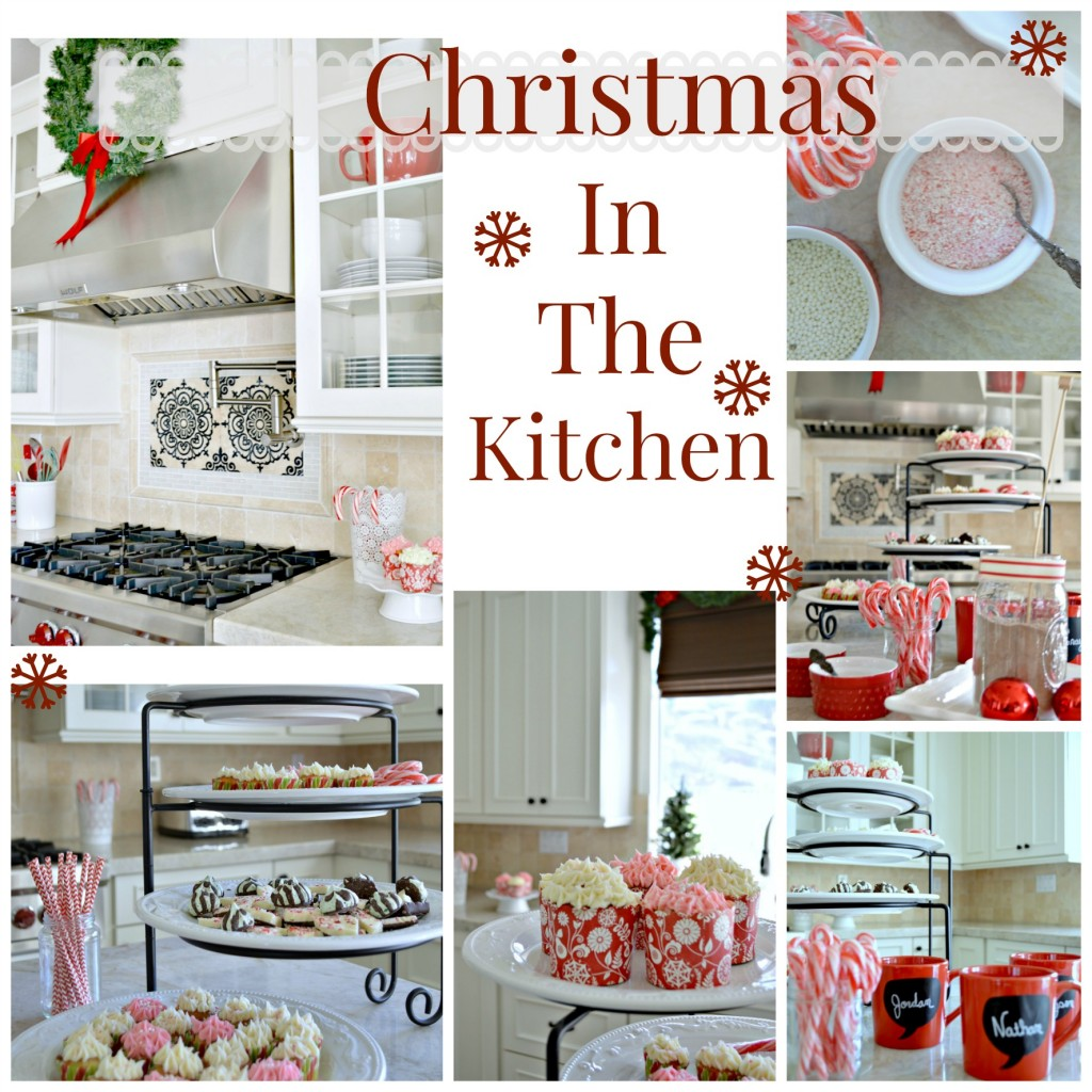 Kitchen Decorated For Christmas: Christmas Decorating In The Kitchen