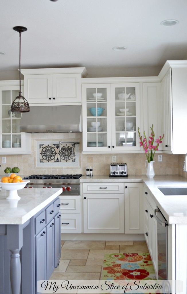 White and Grey Elegant Kitchen remodel