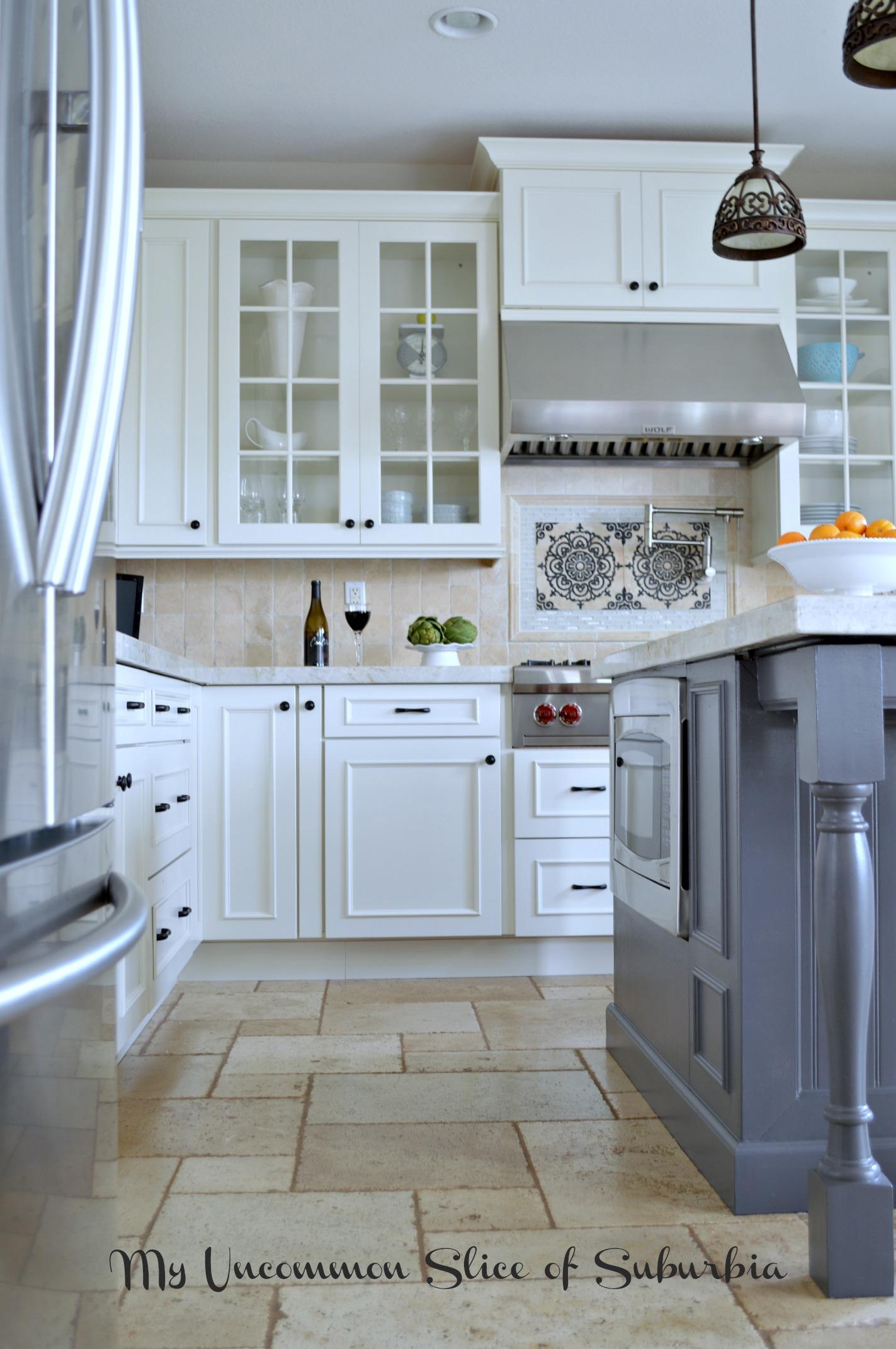 White Amp Elegant Kitchen Remodel
