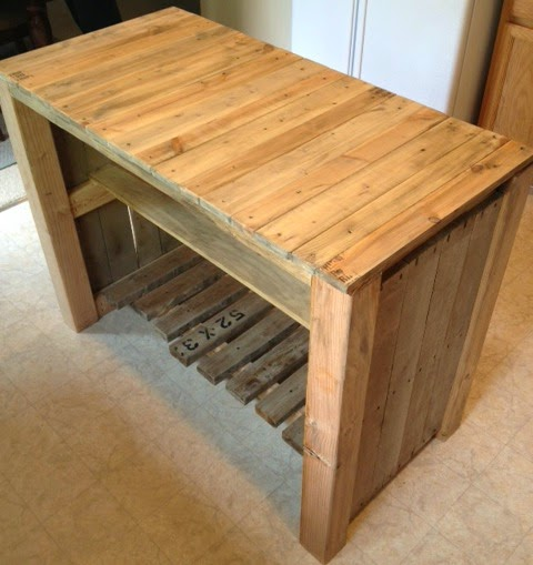 Kitchen Island Out Of Pallets: 6 DIY Makeovers