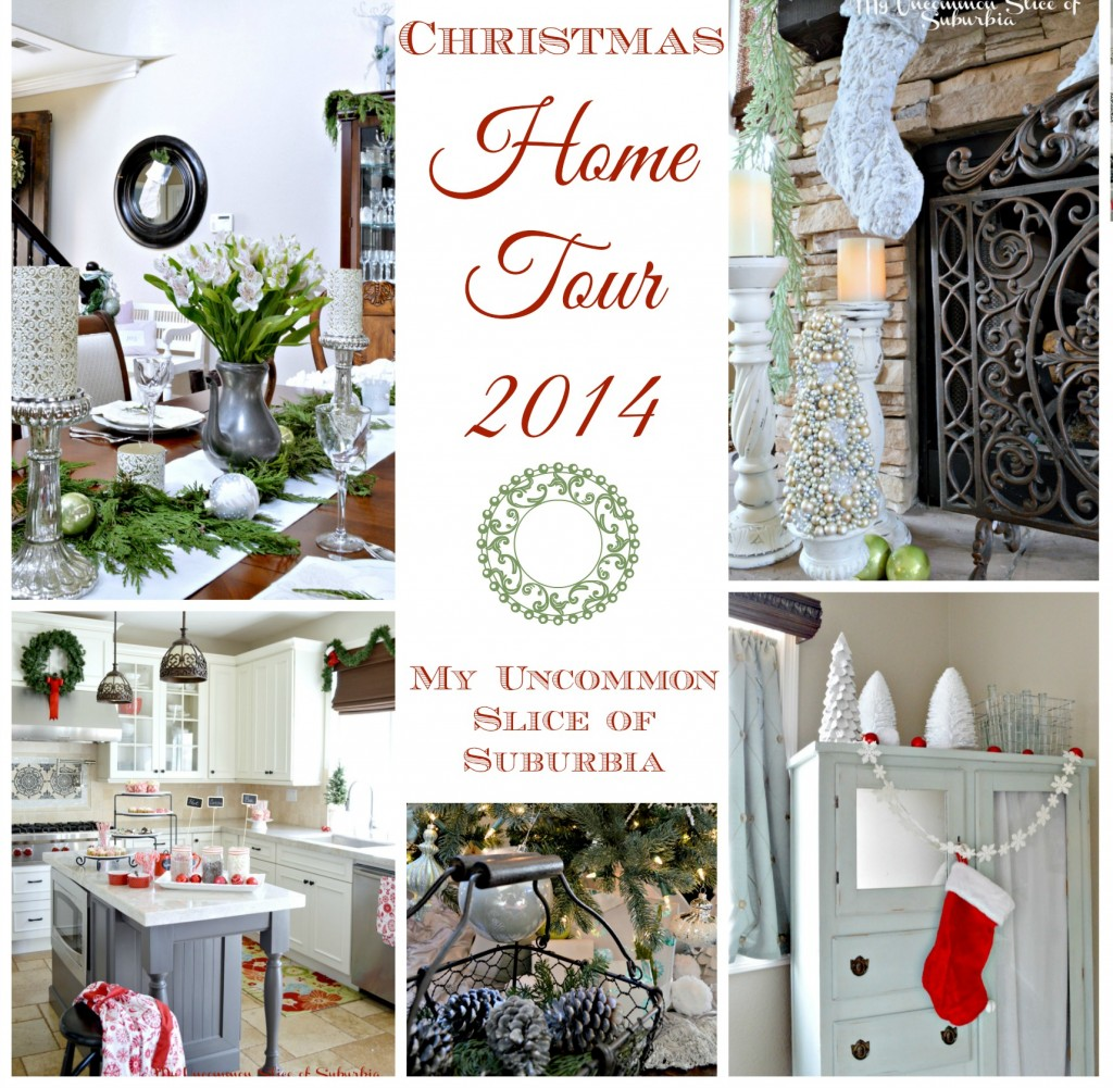 Christmas home tour 2014 My uncommon Slice of Suburbia