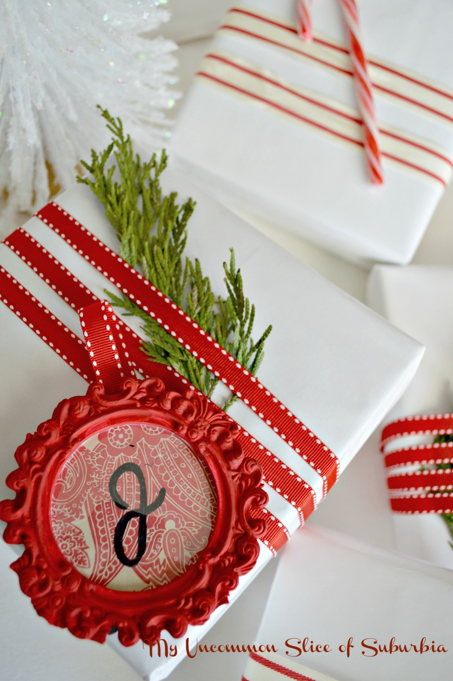 Painted gift tags