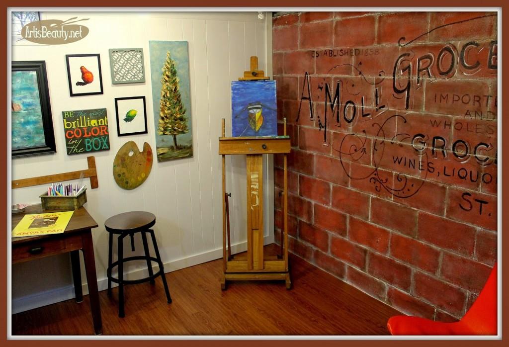 corner shot artisbeauty art studio