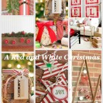A red and white Christmas