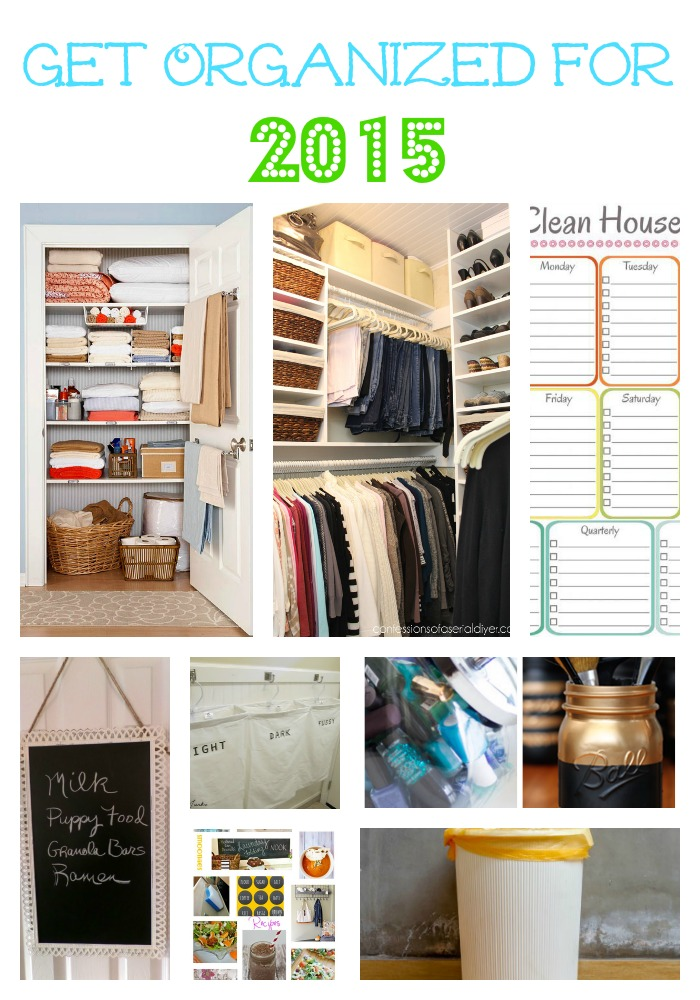 get organized for 2015