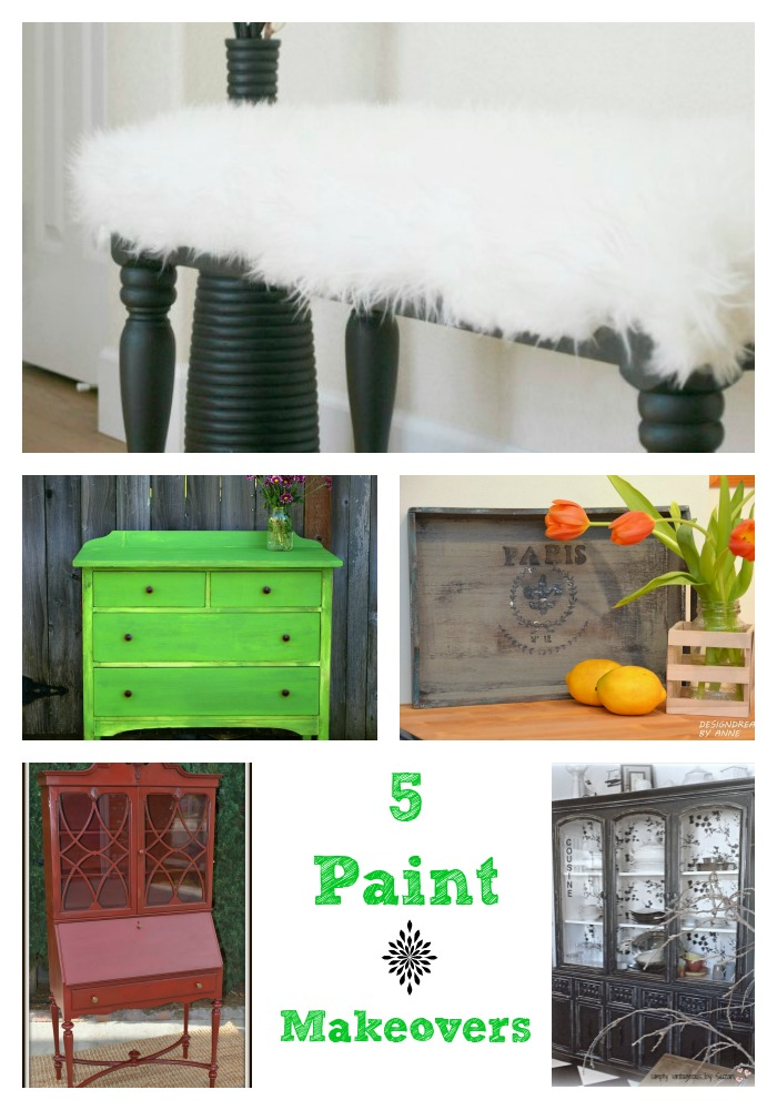 5 paint makeovers